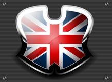 英国的旗子 免版税库存照片