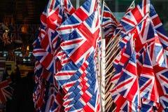 英国的旗子 免版税图库摄影