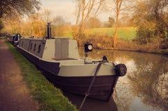 英国的盛大联合运河 免版税库存图片