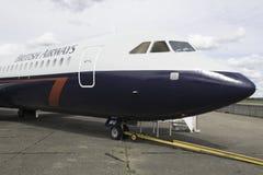 英国的空中航线 免版税图库摄影