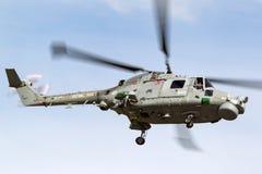 英国皇家海军海军航空兵部队韦斯特兰天猫座HMA 8个WG-13反水下战争直升机XZ719 免版税库存图片
