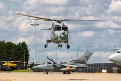 英国皇家海军海军航空兵部队韦斯特兰天猫座HMA 8个WG-13反水下战争直升机XZ726 库存照片