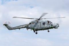 英国皇家海军海军航空兵部队韦斯特兰天猫座HMA 8个WG-13反水下战争直升机XZ726 免版税库存图片