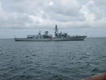 英国皇家海军船 库存图片