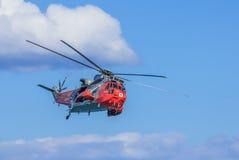 英国皇家海军直升机海盗头子 免版税库存照片