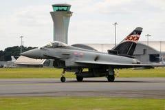 英国皇家空军台风战斗机 库存图片