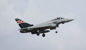 英国皇家空军台风战斗机FGR4 免版税库存图片