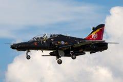 英国皇家空军皇家空军波氏系统鹰T 从IVR分谴舰队的2个ZK018根据在皇家空军谷 库存照片