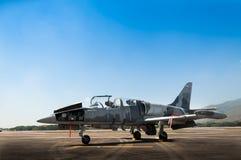 英国皇家空军F-16战斗机飞机  图库摄影