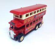 英国红色公共汽车 免版税库存照片
