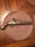 1776英国美丽的枪 免版税库存图片