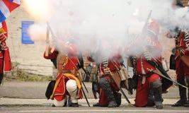英国老战士 免版税库存图片