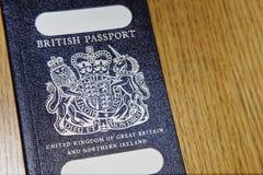 英国老护照 免版税库存照片