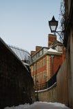 英国老街道 库存照片