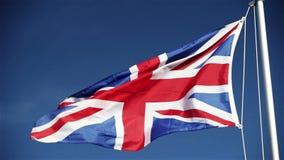 英国联盟标志(英国国旗) 股票视频