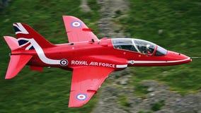 英国航太公司鹰T Mk 1个喷气机训练航空器 免版税库存照片