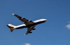 英国航空一次世界飞行 免版税库存照片