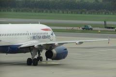 英国航空公司航空器 库存照片
