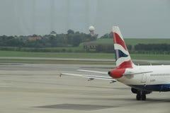 英国航空公司航空器 免版税库存图片