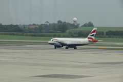 英国航空公司航空器 免版税库存照片
