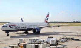 英国航空公司 库存照片