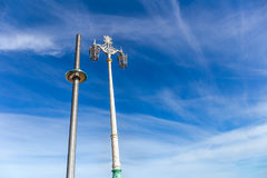 `英国航空公司i360 `观测塔,布赖顿 库存图片