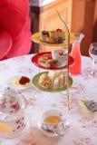 英国茶时间 库存图片