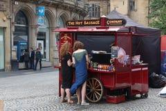 英国街道食物 免版税库存照片