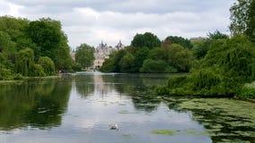 英国詹姆斯・伦敦公园st 免版税库存图片