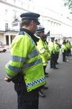 英国警察封销线 免版税库存照片