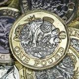 英国货币2017年 库存照片