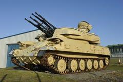 英国轻型坦克 免版税库存照片