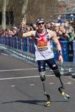 英国运动员 免版税库存图片