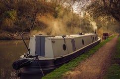 英国运河 库存图片
