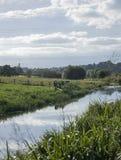 英国运河 免版税库存照片