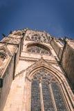 英国遗产-罗马哥特式大教堂 免版税库存照片