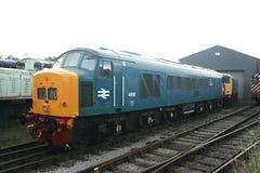 英国铁路内燃机车类45在手推车小山集中处路轨力量事件-手推车小山,切斯特菲尔德,英国的第45112 - 免版税库存图片
