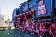 英国铁路severn蒸汽培训谷 库存图片