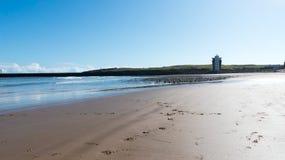 英国阿伯丁海滩 免版税库存图片