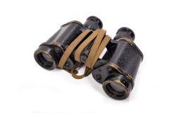 英国陆军的军用双筒望远镜 库存照片
