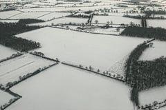 英国雪 免版税图库摄影