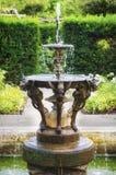 英国面貌古怪的人喷泉 库存照片