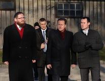 英国首相戴维・卡梅伦 免版税库存照片