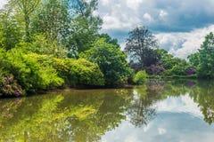 英国,诺福克, Sandringham, 2016年, 6月, 15日:阙的庭院 免版税图库摄影