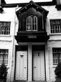 英国: 17世纪房子 免版税图库摄影