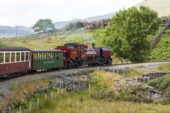 英国-威尔士-蒸汽机车138前SAR NGG 16类加拉特p 免版税库存照片