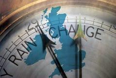 英国更改 免版税库存图片