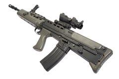 英国攻击步枪L85 库存照片