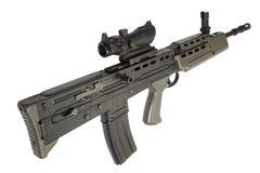 英国攻击步枪L85 免版税库存图片