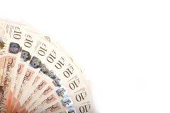 英国10磅 免版税库存图片
